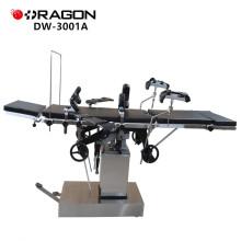 DW-3001A Mesa de operaciones de oftalmología hidráulica manual