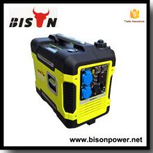 Bison China Zhejiang Transferência Automática Switch Para Gerador 2KW 3000 Watt Inverter Generator For Sale