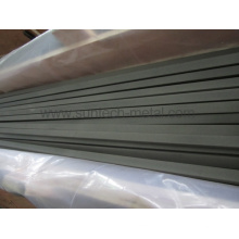 Barra Rectangular de titanio