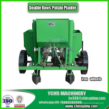 Plantadora de patatas de dos filas para Tractor 25-30HP