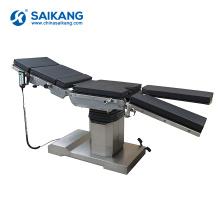 Table d'opération électronique chirurgicale multifonctionnelle d'acier inoxydable A202