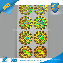 Custom customized hologram stickers 3d