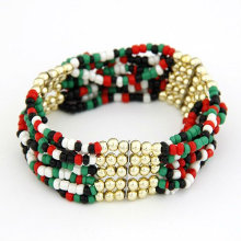 Hottest!Bohemian Style 100% Handmade Multilayers Rice Beads Woman Bracelets Wholesale FB48