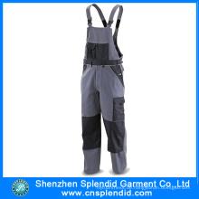 Guangdong Workwear Garment Work Trägerhose mit Knieschoner