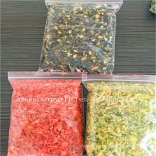 Jalapeño seco Jalapeño deshidratado granulado verde