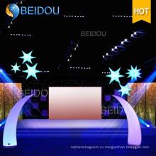 Оптовые осветительные арки Надувные деревья Столбы Столбы Конусы Слоновые бивни