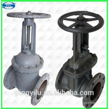 hot sale Carbon steel stem gate valve pn16 in water medium
