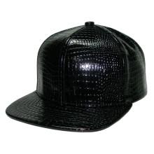 Blink Snakeskin PU Fabric Snapback Hat