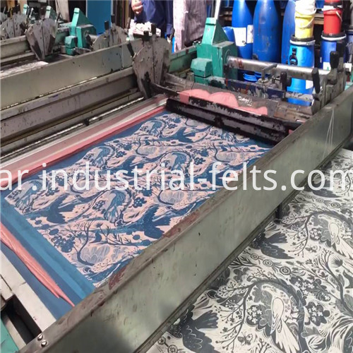 Textile Screen Printing Industry Fabric