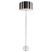 Capa de Vidro Torchiere Moderna Linha Preto e Branco Lamp Lampshadefloor