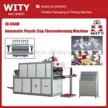 PP und PS Material Plastikbecher Entsorgung Thermoformmaschine