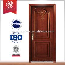 Puertas clasificadas de la resistencia de fuego de encargo de la fábrica, sola puerta de madera del oscilación