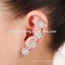 Горячие продажи украшения модный дизайн уха шипов цветок boho серьги