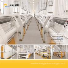 Concrete Building Wheat Flour Milling Plant