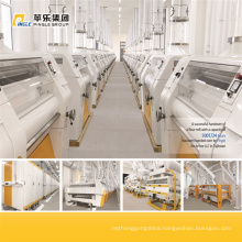 Concrete Building Wheat Flour Milling Plant