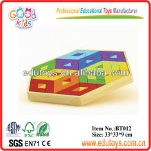 Bamboo ECO Toys Geometry forme Mosaic Puzzle