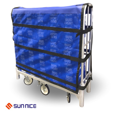 Protective Wrapz Cover Strapping on Cart