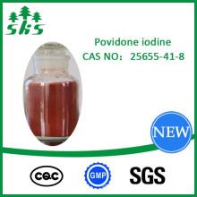PVP povidone-iodé CAS: 25655-41-8 prix compétitif de haute qualité