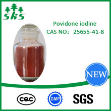 Povidone iodine Reddish-brown Powder CAS:25655-41-8 PVP Top Grade