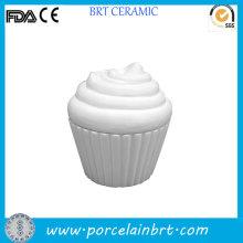 BRICOLAJE pintura cerámica Cupcake crema tarro para juguete de los niños