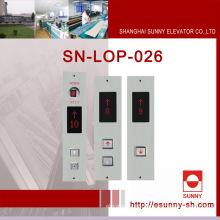 Panel del botón del elevador de Lop (SN-LOP-026)