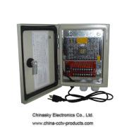 12В 9 канал 5Amp водонепроницаемый CCTV источник питания 12VDC5A9PW