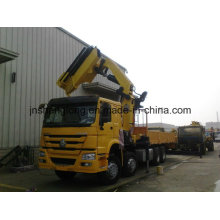 HOWO 8X4 371HP Heavy Wheel Crane 25ton
