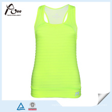 Lady Neon Yellow Tank Tops in Bulk Fitness Wear