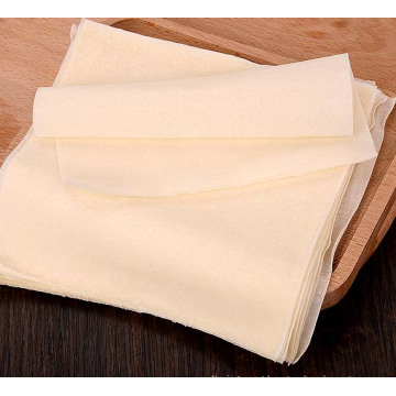 Chinese frozen food net spring roll wrapper / frozen spring roll