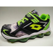 Children′s Sports Running Shoes with Air Cushion Outsole