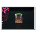 25ml - 500ml limpar vidro redondo armazenamento frascos para mel geleia doce