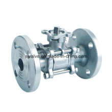 3PC Flange Ball Valve with ISO5211