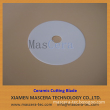 Round Shape Zirconia ZrO2 Ceramic Cutter for Rubber Cutting