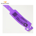 13.56Mhz RFID PVC Disposable NFC Wristband