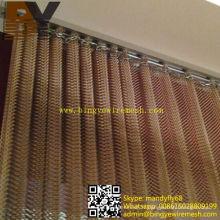 Plafond accrochant de rideau métallique de draperie de plafond