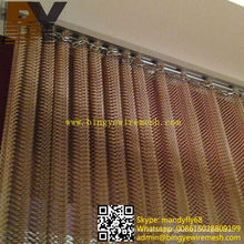 Hanging Mesh Drapery Metal Curtain Decorative Ceiling