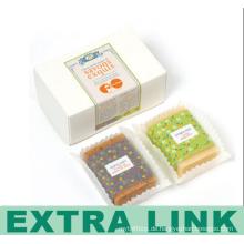 Umweltfreundlicher Kunstdruckpapier-kundenspezifischer Logo-faltbarer Papierkasten für Harmonie-Seife