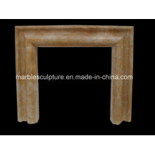 Natural Stone Simple Style Marble Fireplace (SY-MF230)