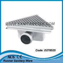 Triangular Stainless Steel Shower Drain / Triangular Floor Drain (D278525)