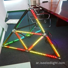 إضاءة المسرح Madrix Control Triangle 3D Led Bar