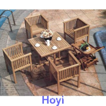 Leisure outdoor dining set with mordem design