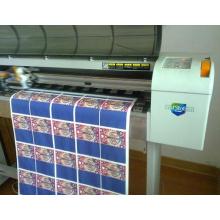 Papier de transfert de chaleur de laser de désherbage de bonne qualité, chaleur appliquent pour les T-shirts légers, vêtements de sport