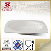 OEM bone china dinnerware , durable soup platter