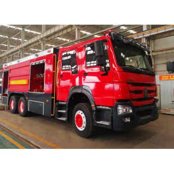 Camion de lutte contre l'incendie Sinotruk Howo