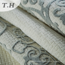 Tissu en nylon floqué de style chinois