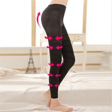 Talladora del cuerpo de las mujeres de la manera que adelgaza Legging (SR8208)