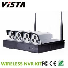 Kit NVR 4CH Outdoor 720p P2P IP caméra sans fil Wifi