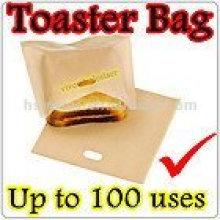 Vente chaude de sacs de grillage à pain de qualité alimentaire PTFE