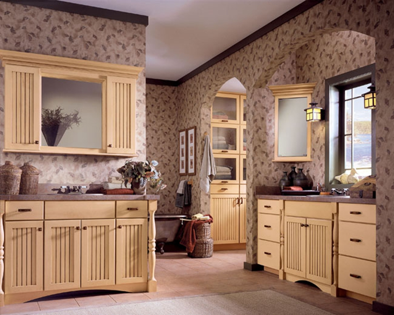 American Style Classical Solid Wood Kitchen Cabinets