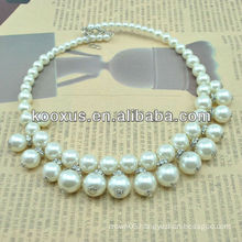 Imitation pearl necklace (KCXL-A23)